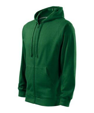 Trendy Zipper - mikina s kapucí